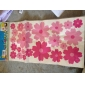Patrón de flores Gorgeous PVC DIY Wall Paper