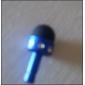 3,5 milímetros de desenho animado bonito microfone estéreo padrão anti-pó plug diy para iphone 8 7 samsung galaxy s8 s7