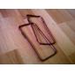 dsb® prémio pc preto híbrido adornam colorido tpu protetor quadro pára-choques para o iPhone 6 (cores sortidas)
