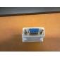 DVI 24+1 Male to VGA Female Adapter White