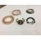 Homme Bracelets Bracelets Vintage Noir Gemme Original Mode Cristal Zircon Imitation Diamant Forme de Croix Bijoux Bijoux Pour Mariage 1pc