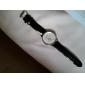 여성의 아날로그 석영 손목 시계 (블랙)