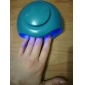 Electric UV Light Wind Automatic Pressure Activates Nail Dryer(Powered by 3 AAA Battery,Random Color)