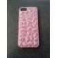 Футляр Розовый леопардовым узором для iPhone 5/5S