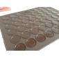 Bricolage de cuisson en silicone Big Size 48 trous macaron cookies Mat