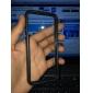 Para Capinha iPhone 5 Antichoque Capinha Protetora de Quinas Capinha Cor Única Macia TPU iPhone SE/5s/5
