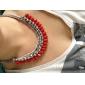 большой шутник красные капли ожерелье
