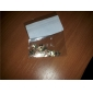 200PCS Cute Kitty Cat Shape Metal Slice Golden Nail Art Decoration