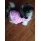 Chien Manteaux Vêtements pour Chien Floral / Botanique Rouge Rose Costume Pour les animaux domestiques