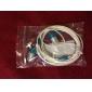 1.2m High-quality Stereo Earphone (Blue)