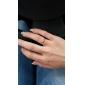 반지 결혼식 / 파티 / 일상 / 캐쥬얼 보석류 티타늄 스틸 여성 밴드 반지5 / 6 / 7 / 8 / 9 로즈 / 실버