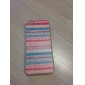 Exquisite Colorful Stripe Pattern PC Hard Case for iPhone 5C
