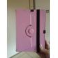 universelle rotation de 360 degrés Support basculant pc et étui en cuir avec ceinture élastique pour 7 pouces table pc (couleurs
