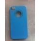 Etui pour iPhone 4/4S, Couleur Unie et Coeur (Autres Coloris Disponibles)