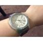 Da Mulher Diamante Round Dial Liga Banda Quartz Analógico Dress Watch (cores sortidas)