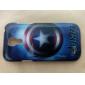 Звезда Pattern Жесткий задняя обложка чехол для Samsung Galaxy S4 Mini I9190