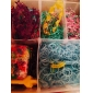 Rainbow Colorful Loom Big Size 3 Layers Multicolor DIY Rubber Band (12000 Pcs) And Connector