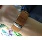 JUBAOLI Муж. Наручные часы Кварцевый Кожа Группа Коричневый