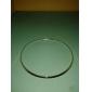 Mulheres Formato Circular Forma Geométrica Estilo simples Gargantilhas Liga Gargantilhas , Diário Casual