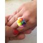 baoguang®600pcs arco-íris cor de moda tear tear elástico (24pcs gancho, cores sortidas)
