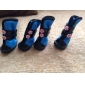 Cat / Dog Shoes & Boots Red / Blue Winter Cotton / PU LeatherDog Shoes