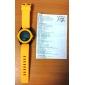 Мужской Спортивные часы Цифровой LCD Pезина Группа Черный Белый Синий Зеленый Желтый