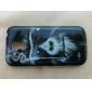 Cas de couverture de fumer Singe Motif arrière dur pour Samsung Galaxy S4 Mini I9190