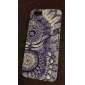 For iPhone 7 Plus Retro Sunflower Eye Pattern Hard Case for iPhone 5/5S
