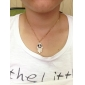 Palm Full of Diamond Sweater Chain Evil Eye Necklace Gold Necklace Love (Random Color)