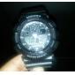 Unisexe multifonction analogique-numérique Rubber Band Wrist Watch (couleurs assorties)