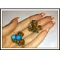 (1 шт) когти этнической многоцветный сплав волос для женщин (цвет случайный)