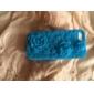Pour Coque iPhone 5 Antichoc / Relief Coque Coque Arrière Coque Dessin Animé 3D Flexible Silicone iPhone SE/5s/5
