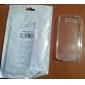 qianjiatian®transparent étui en silicone souple pour Apple 4 / 4s