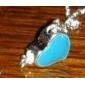 Colliers Tendance Pendentif de collier Bijoux Soirée Quotidien Décontracté Mode Alliage Résine Femme 1pc Cadeau Argent
