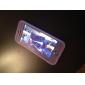 Pour Coque iPhone 5 Clapet Transparente Coque Coque Intégrale Coque Couleur Pleine Flexible PUT pour iPhone SE/5s/5