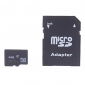 4GB Class 4 MicroSDHC TF Memory Card and SD SDHC Adapter