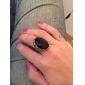 Женское винтажное кольцо с кристаллом
