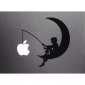The Moon Pattern Apple Mac Decal Skin Sticker Cover for 11