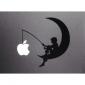 Le modèle Apple Mac Decal couverture de peau autocollant de lune pour 11