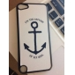 Simple Design Shimmering Big Anchor Pattern Hard Case for iPod touch 5