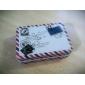 Padrão Rectângulo Envelope Tin Box