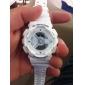 Relógio á Prova-de-Água Digital Branco