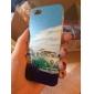 Жираф Животные Путешествия Pattern жесткого пластика чехол для Iphone 5 / 5S