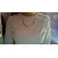 Femme Collier court /Ras-du-cou Alliage bijoux de fantaisie Mode Bohême Bijoux Pour Mariage Soirée Quotidien