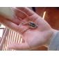 Queda de jóias com diamantes coreana da borboleta azul colar N678