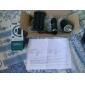 Lampes Torches LED Lampes de poche LED 1000 lm 5 Mode Cree XP-E R2 pour Camping/Randonnée/Spéléologie Noir