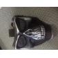 Andningsmask 하이킹 캠핑 전술용 견고함 보호하는 금속 블랙