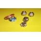S925 Murano Lampwork Glass Beads(Blue)