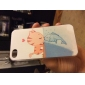 Cat Kiss Fish Dull Polish Embossment Back Case for iPhone 4/4S