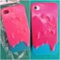 Мороженое Pattern чехол для iPhone 4/4S (разных цветов)